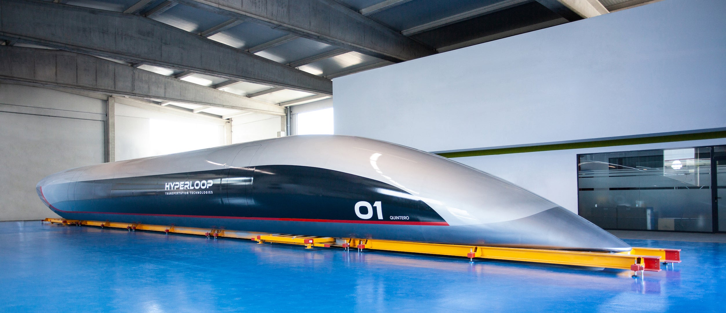 I Stepped Into The World's First Full-Size Hyperloop Capsule