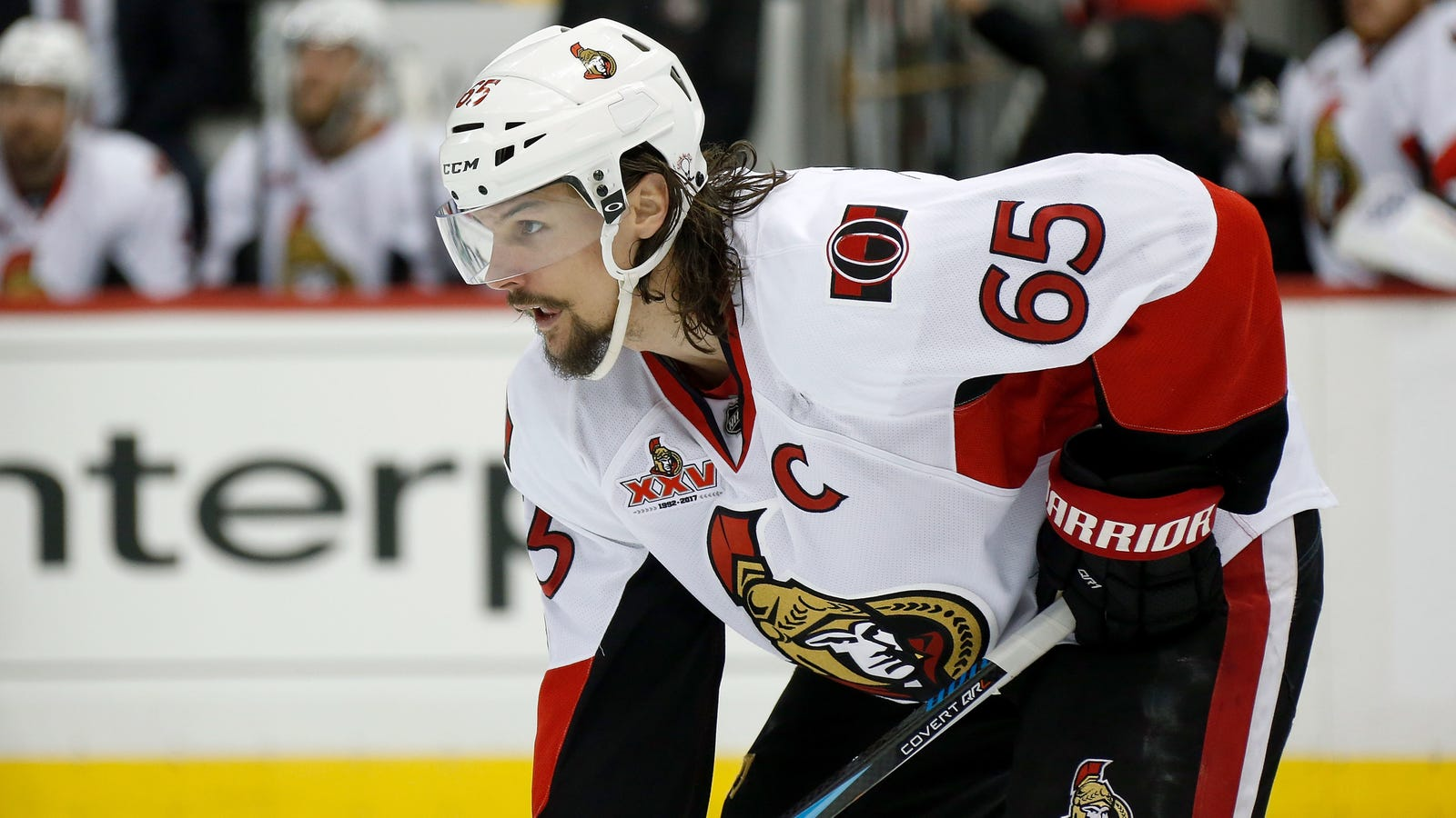 Erik Karlsson's Quotes About His New Bionic Foot Sound Kind Of Ominous
