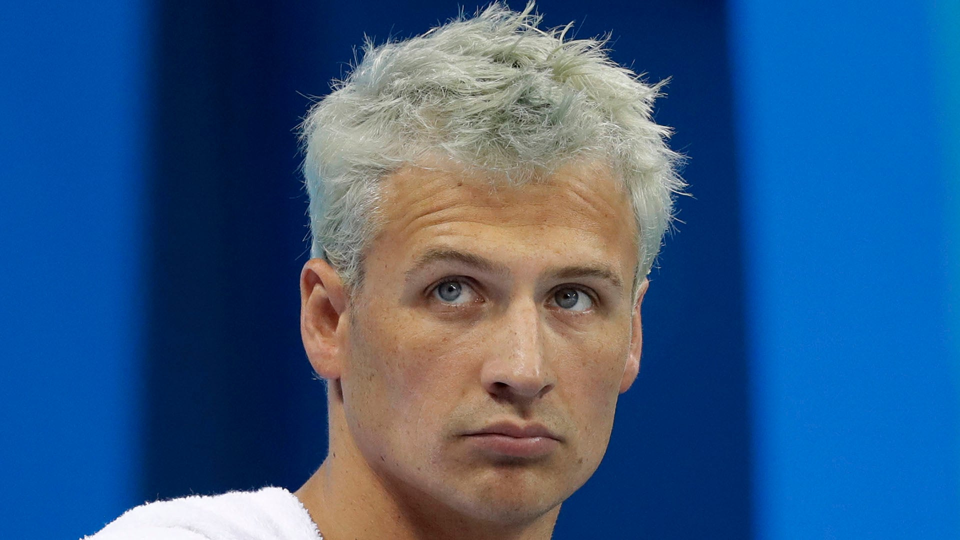 Image result for lochte ashamed