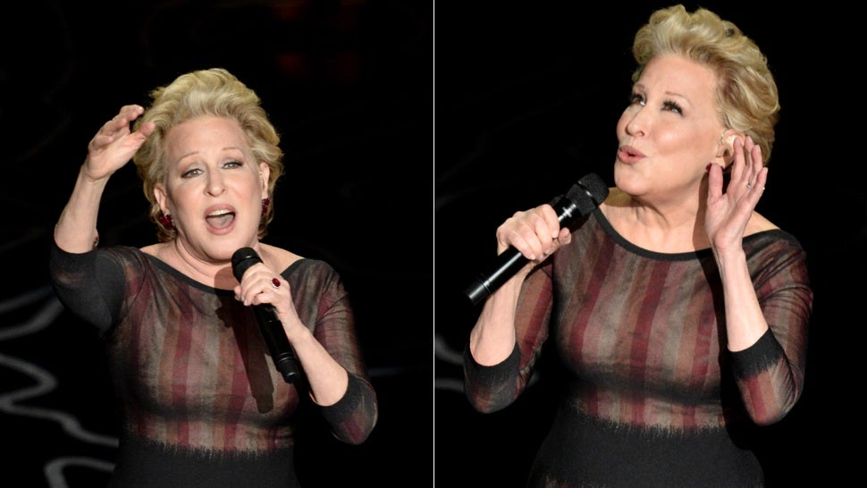 Bette Midler Boobs 69