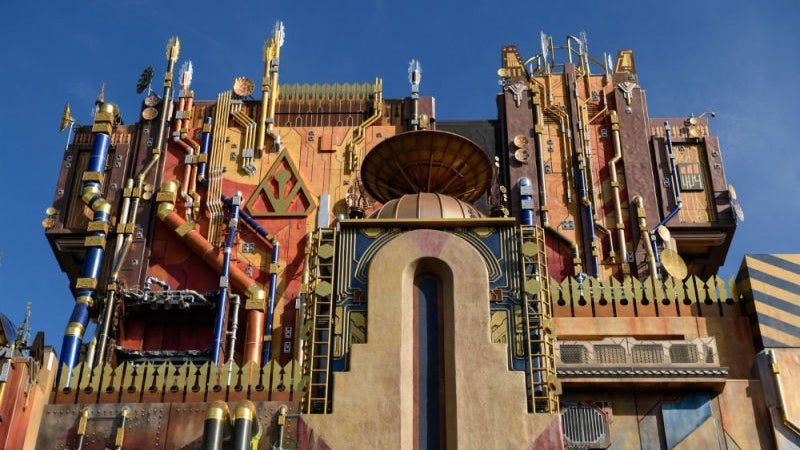 Lines Snaked Through Entire Park For Disney's Guardians Of The Galaxy Ride Debut