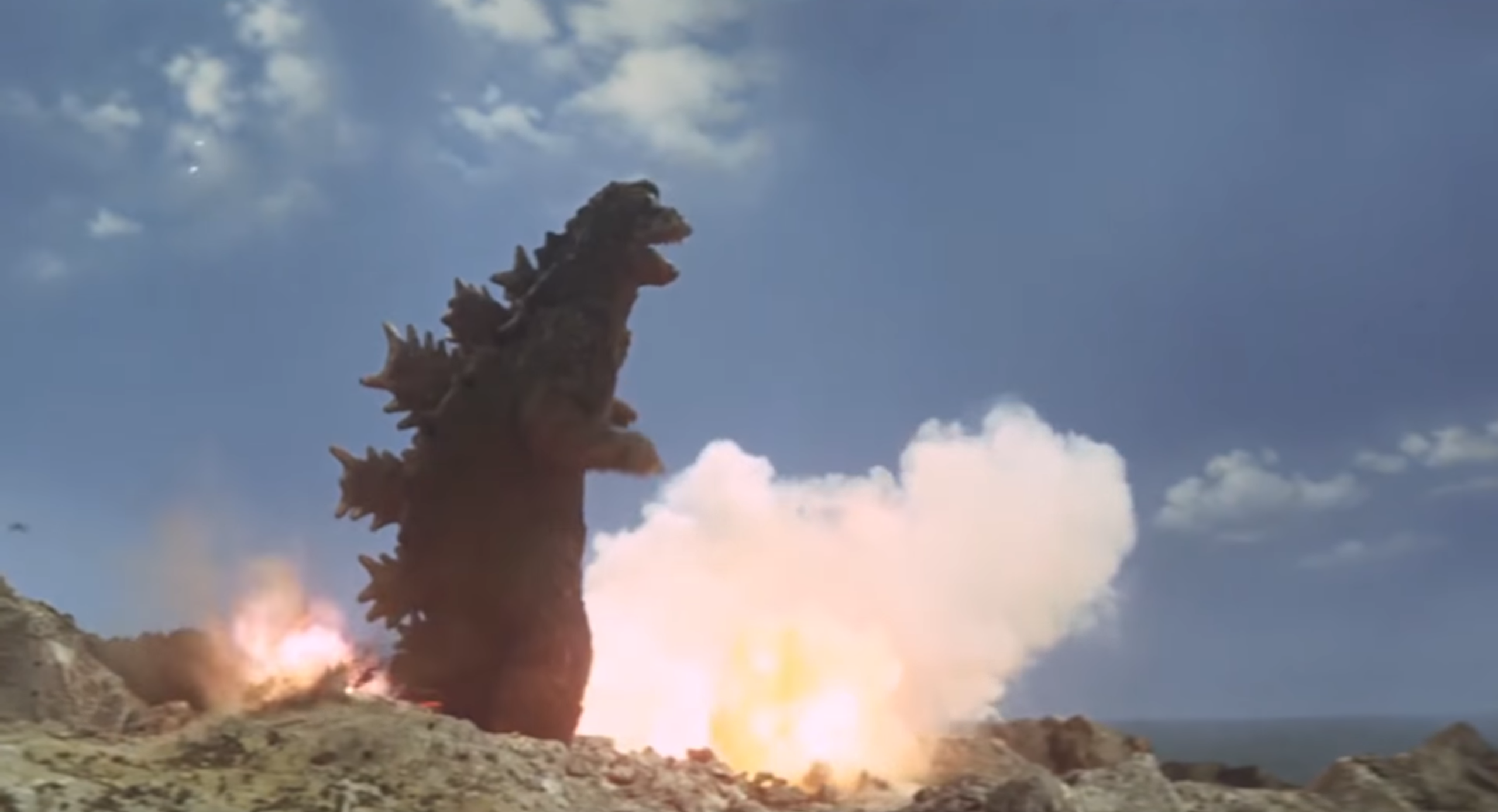 Old School Kaiju Icons Collide In This Retro Re-Imagining Of The Godzilla: King Of The MonstersTrailer