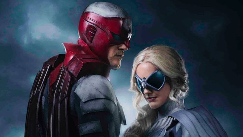 Our First Look At Titan's Superpowered Duo Hawk And Dove