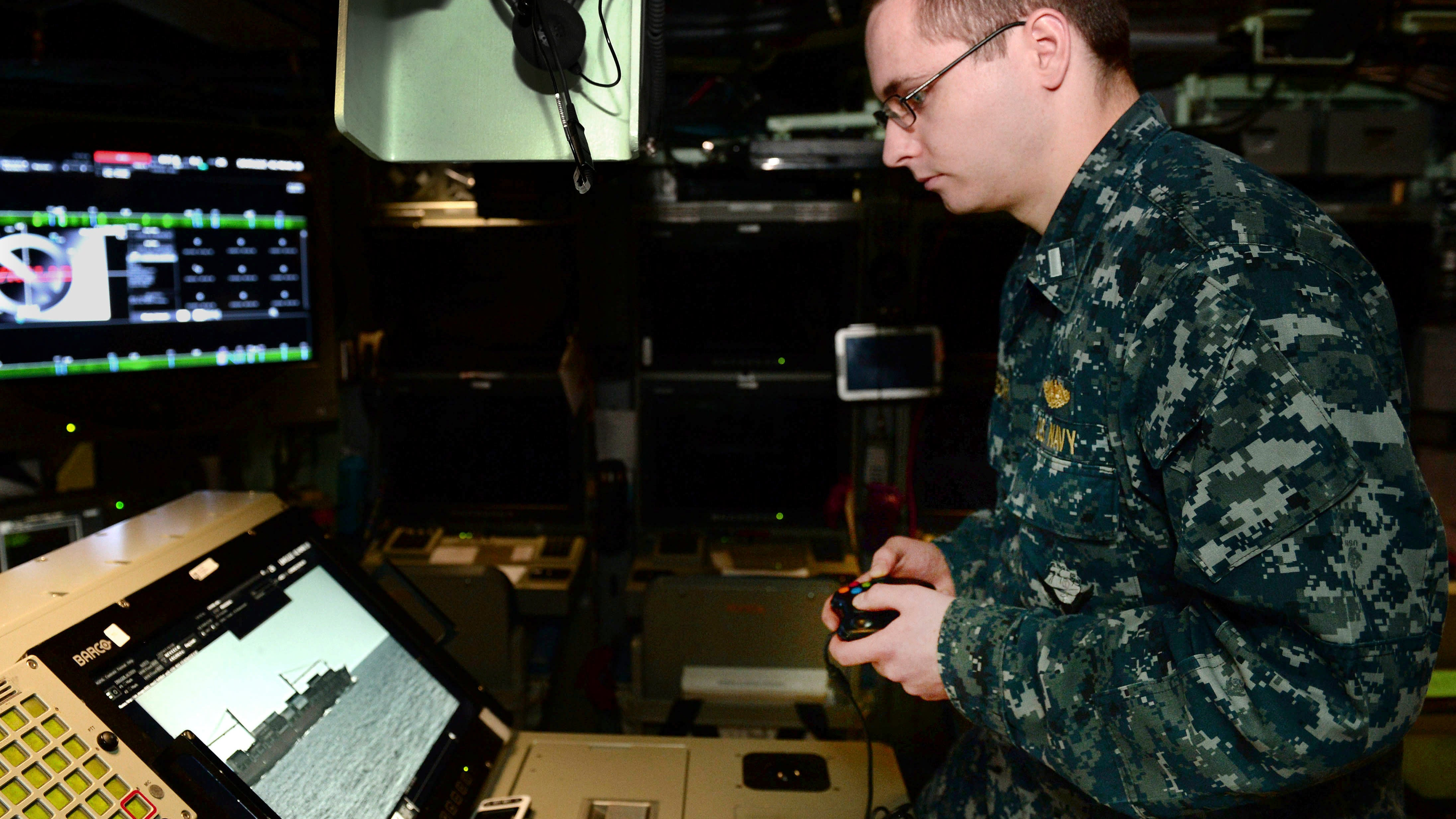 US Navy's Newest Attack Submarine Is Partially Operated With A 12-Year-Old Xbox Controller