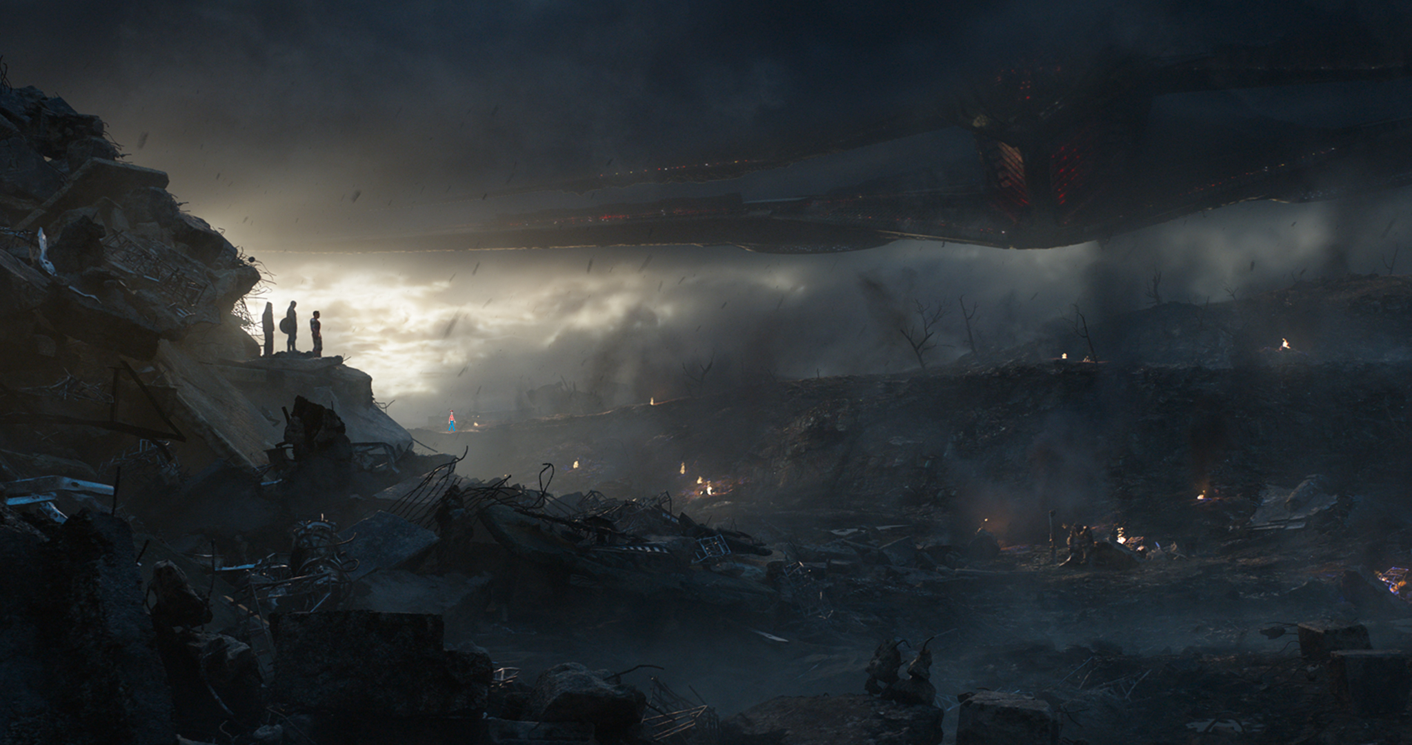 We Think We Found Nova In These Avengers: Endgame Stills