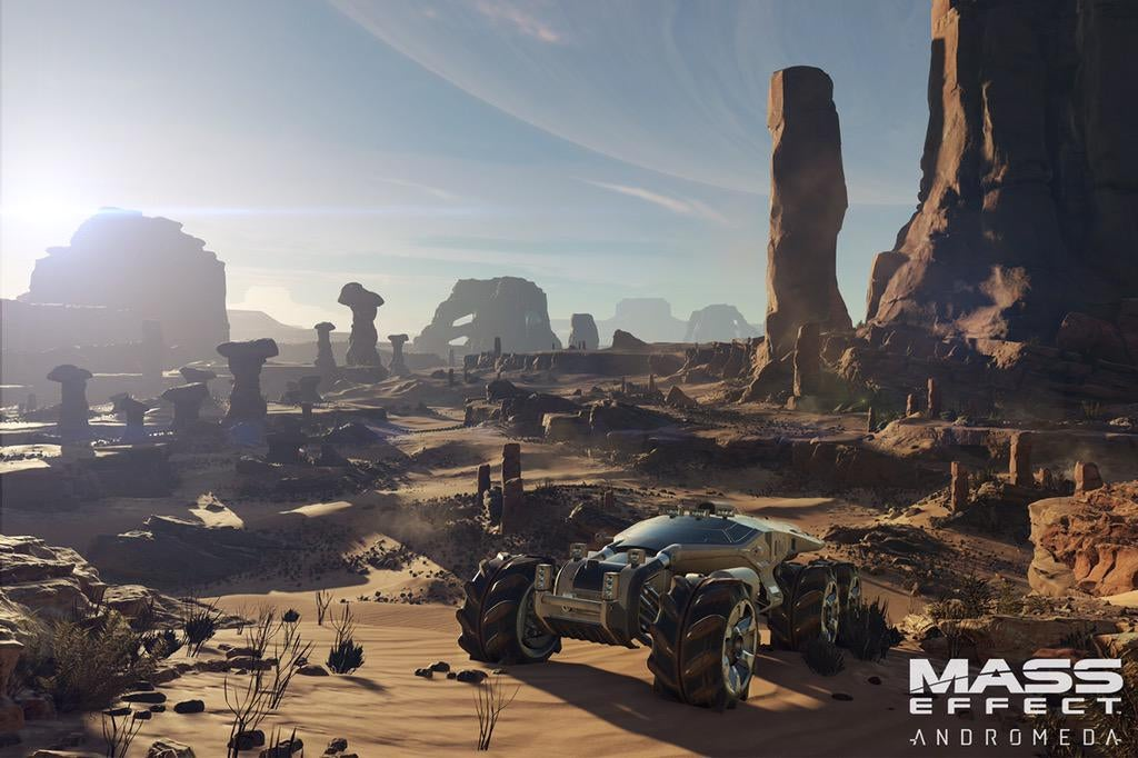 Half An Hour With The Nomad: Mass Effect Andromeda's New Mako
