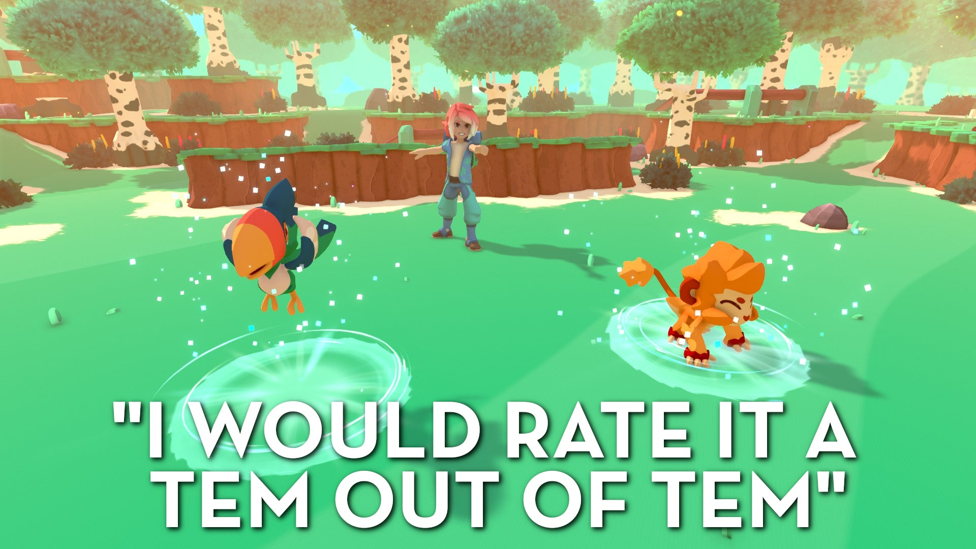 Temtem, As Told By Steam Reviews