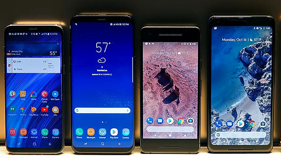 android au galaxy-note-8 google pixel-2 samsung showdown