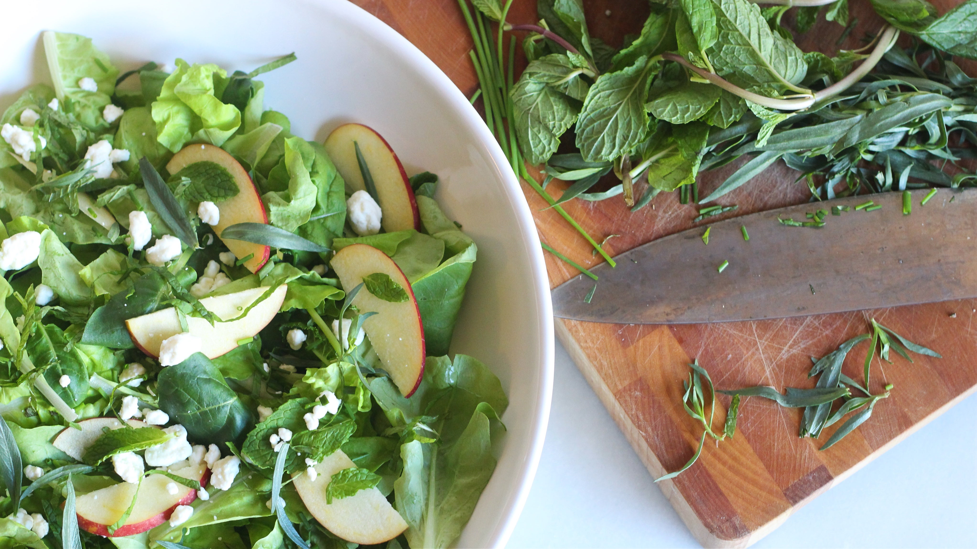 Add Handfuls Of Herbs To Your Salad
