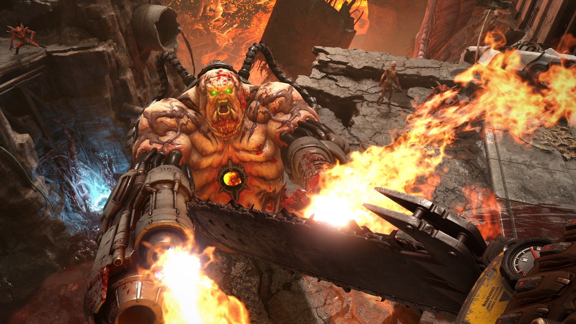 Playing Doom Eternal Is Actually Self-Care