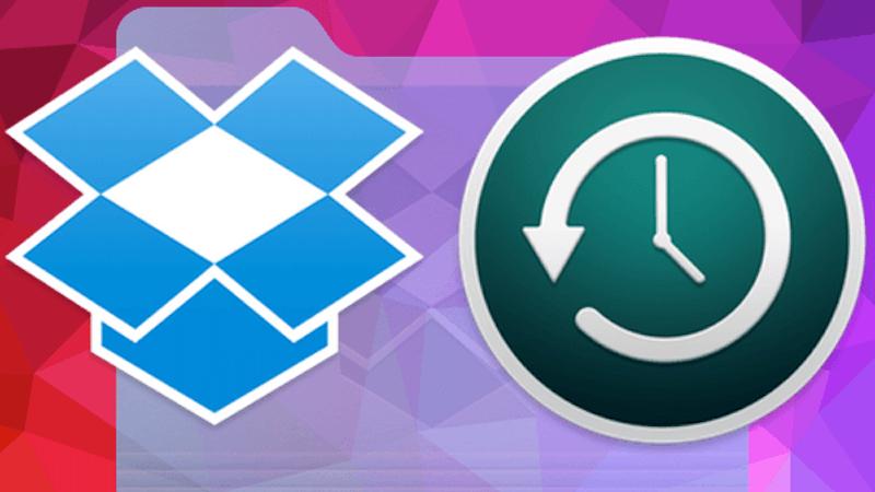 backup dropbox folders syncing