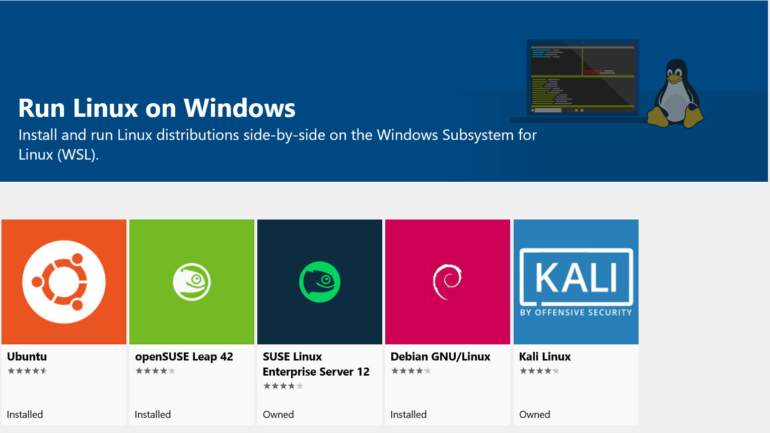 linux ubuntu windows windows-subsystem-for-linux wsl