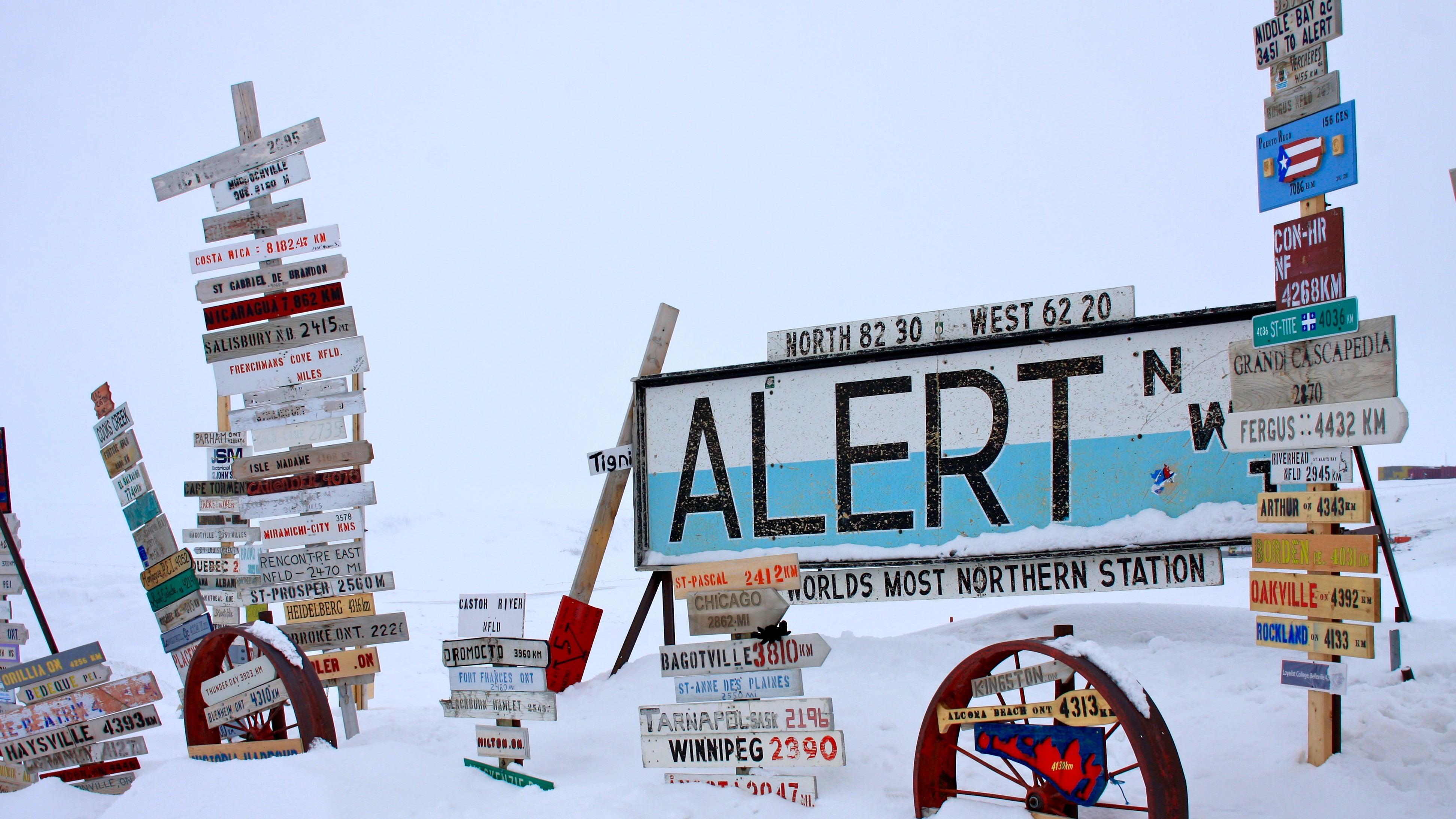 alert arctic canada earther heat-wave nunavut