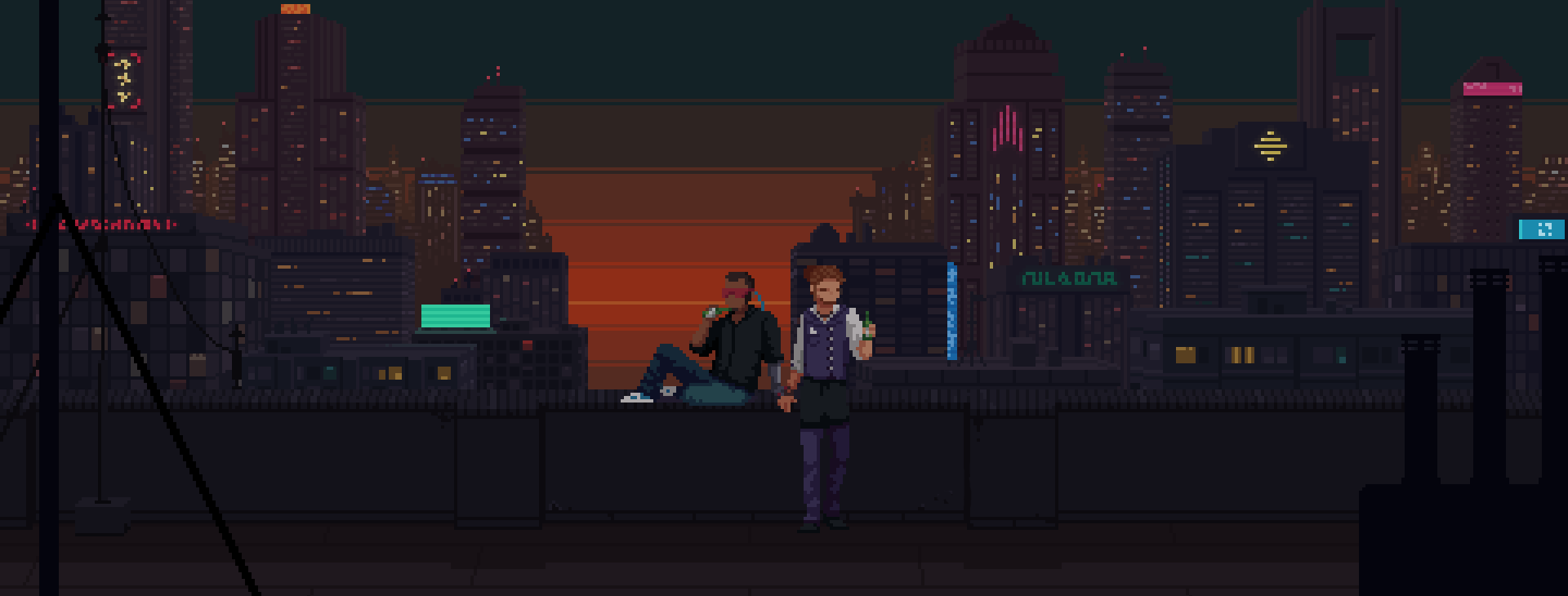 A Cyberpunk Game Where You Manipulate People With Alcohol