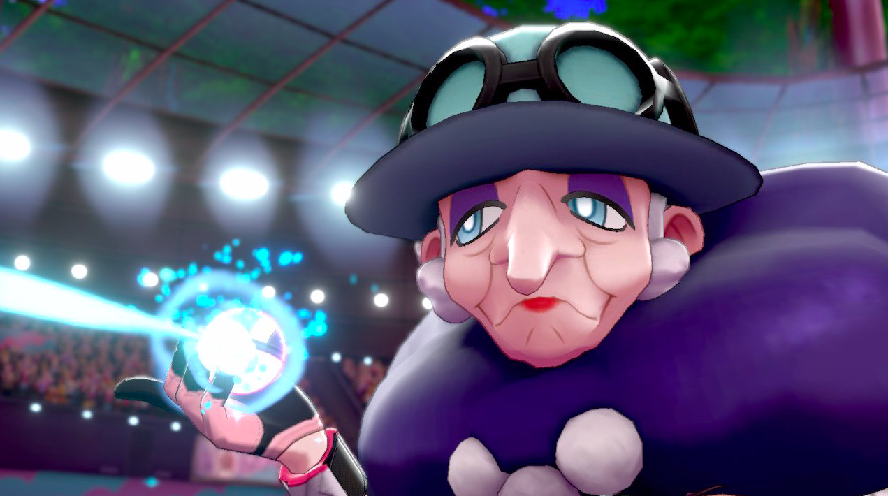 Pokémon Sword And Shield's Opal Is The Gym Leader This Generation Deserves