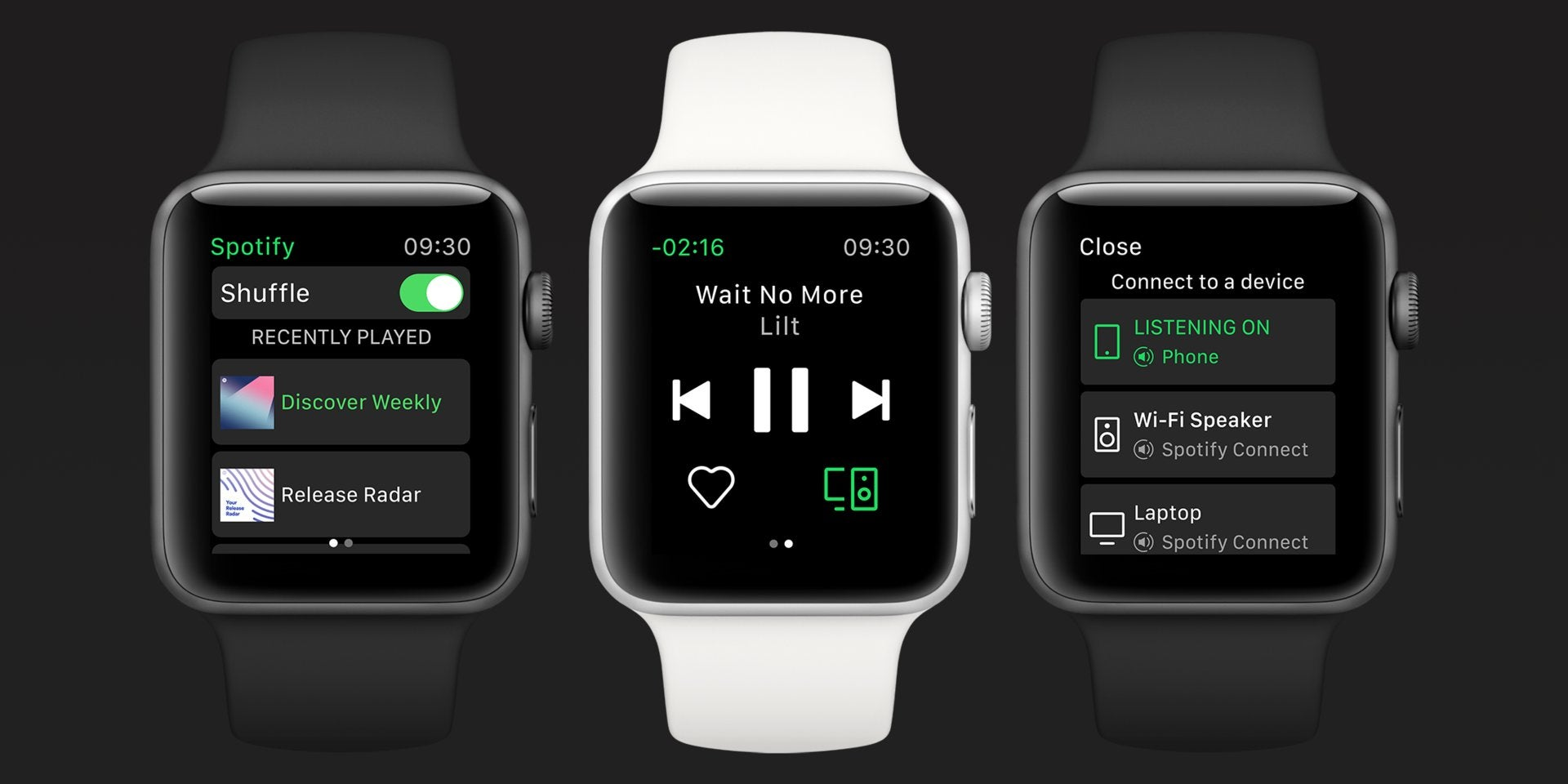 apple-watch consumer-tech ios iphone music saga spotifys-apple-watch-app-is-finally-here streaming-music watchos wearables