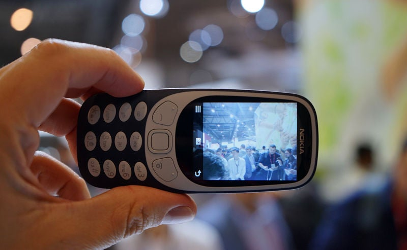 Hands On With The New Nokia 3310