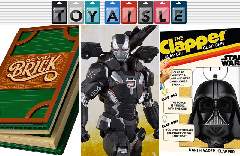action-figures avengers-infinity-war bean-bag-chairs darth-vader fairy-tales figures furniture galaga ghosts-n-goblins io9 lego ms-pac-man nintendo star-wars super-impulse super-mario the-clapper thinkgeek toy-aisle toys video-games war-machine