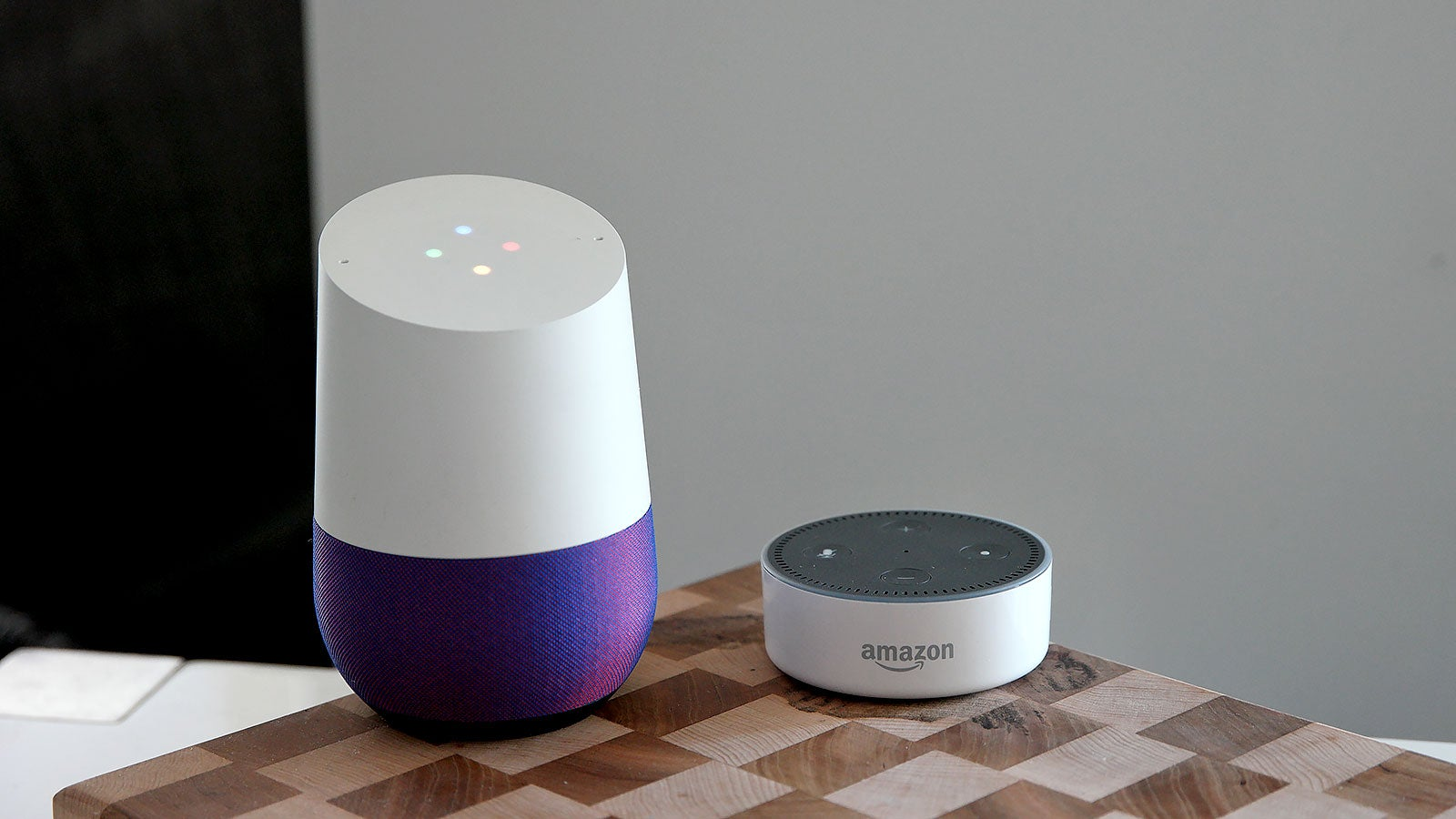 amazon amazon-echo consumer-tech digital-assistants google google-assistant google-home google-wins-its-first-big-smart-speaker-battle smart-speakers