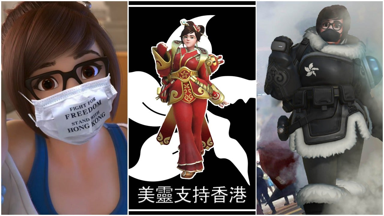 Overwatch's Mei Is Becoming A Symbol Of The Hong Kong Resistance