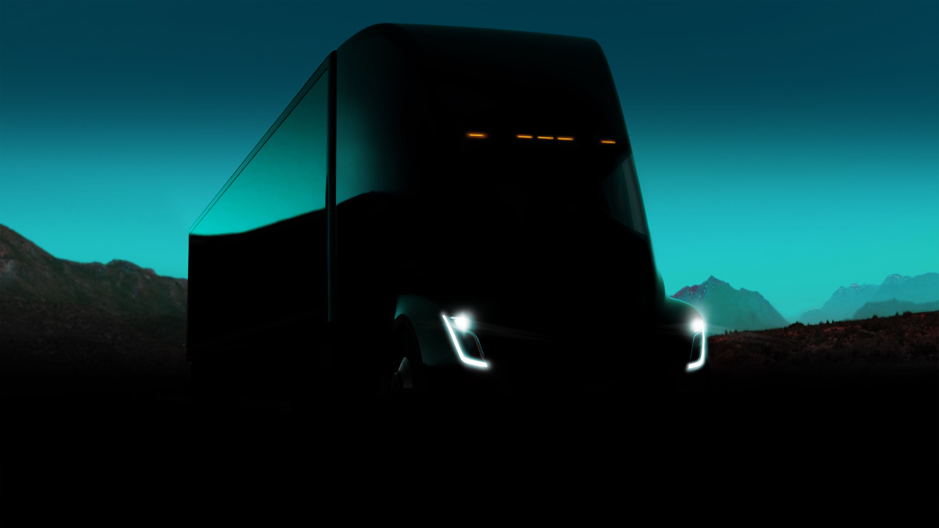 electric-truck elon-musk semi-truck tesla tesla-semi-truck