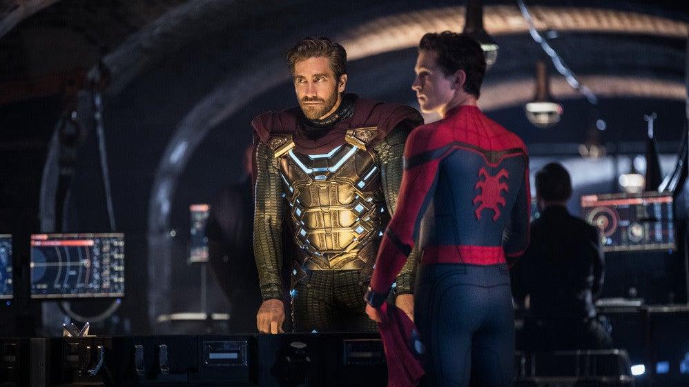 io9 jake-gyllenhaal jon-watts marvel-cinematic-universe marvel-studios sony spider-man-far-from-home tom-holland