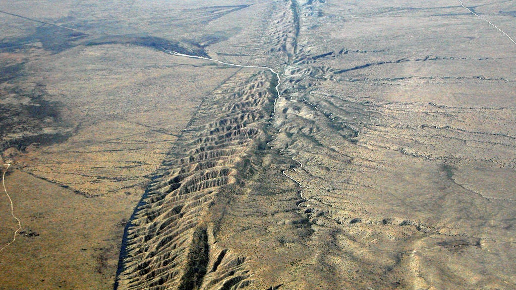california earthquakes faults geology san-andreas-fault san-jacinto-fault seismology