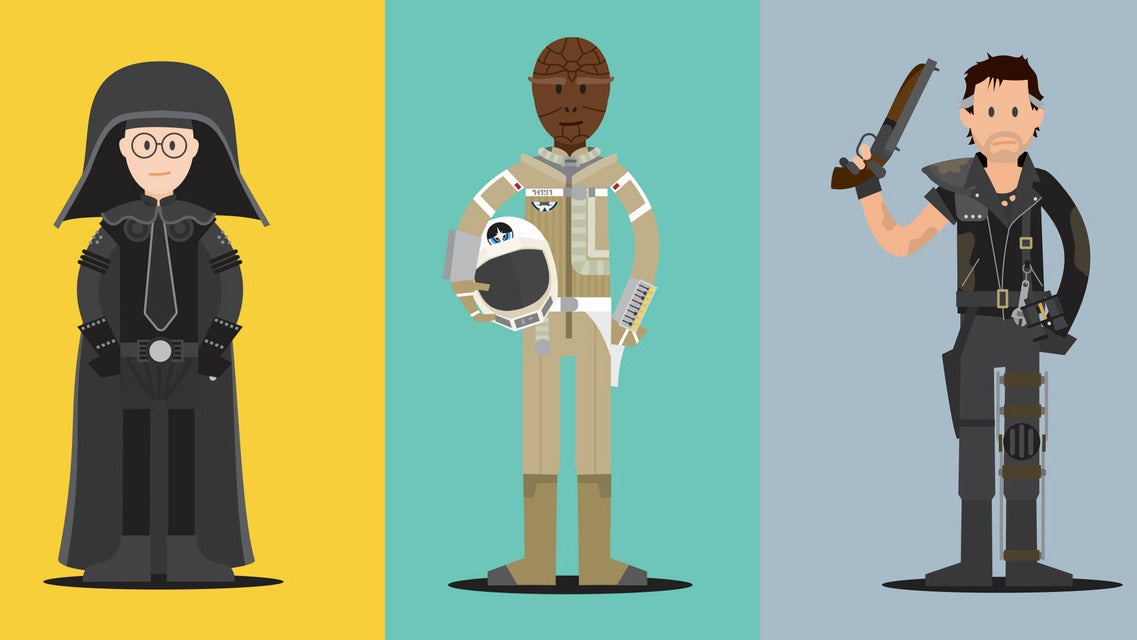 aliens ghostbusters goonies gremlins hero-complex-gallery io9 kurt-russell mad-max nostalgia posters princess-bride scott-park spaceballs the-last-starfighter this-is-awesome