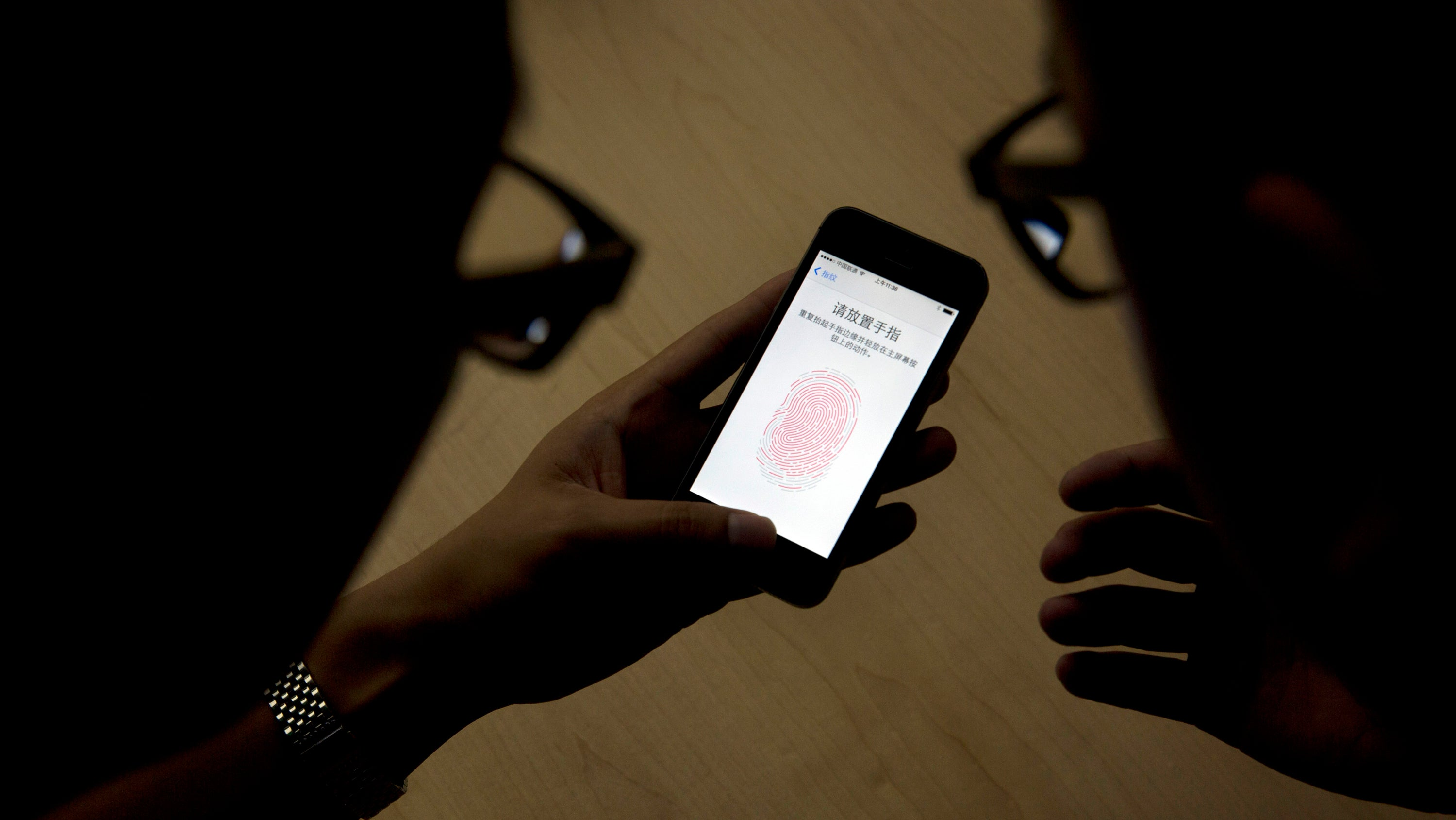 cybersecurity law-enforcement police security smartphones touchid