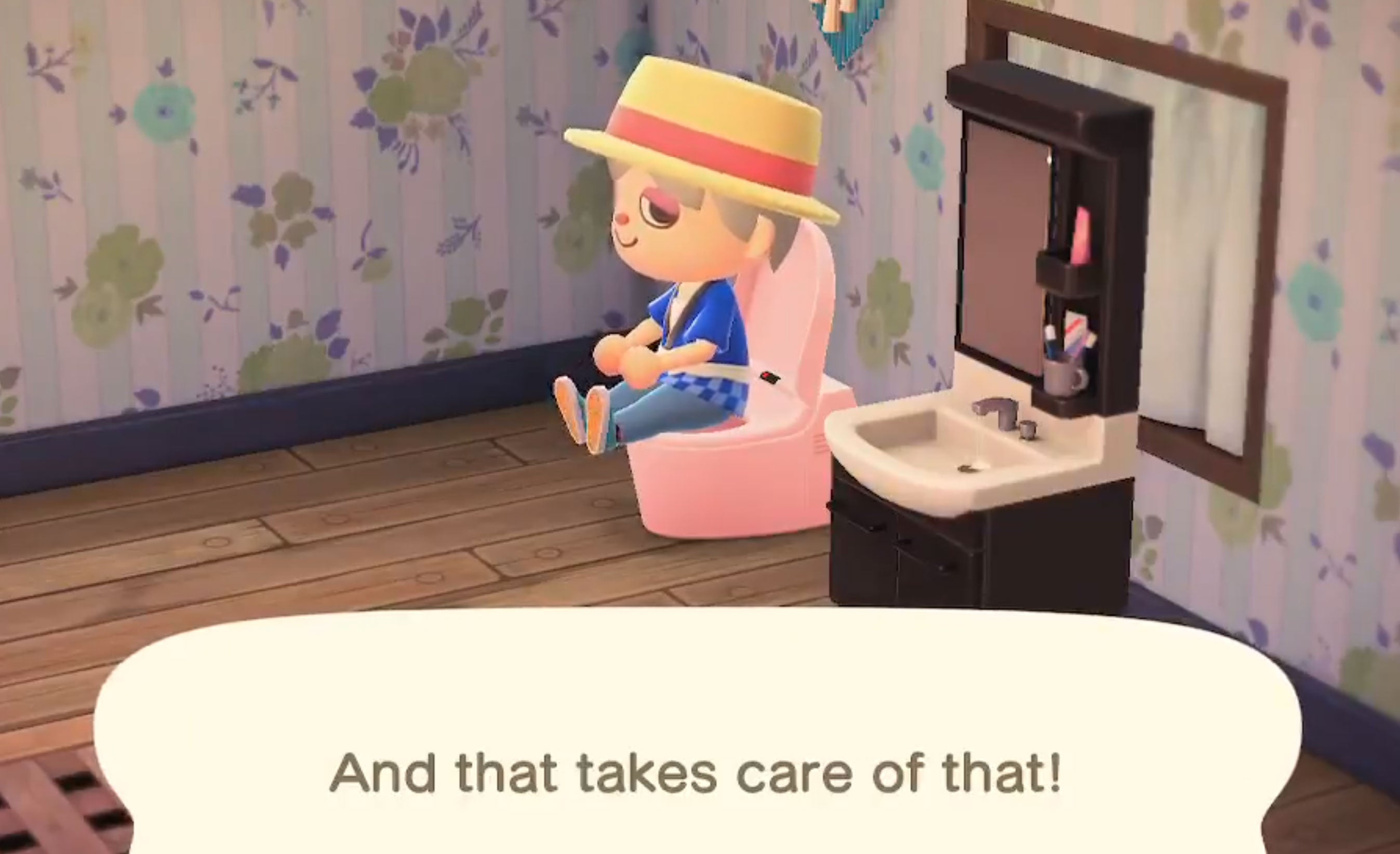 You Can Poop In Animal Crossing: New Horizons