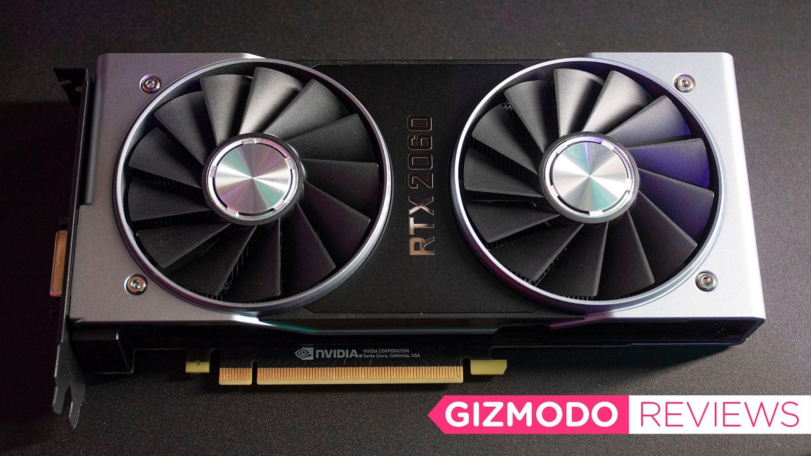 nvidia nvidia-20-series nvidia-rtx-2060-review ray-tracing rtx-2060