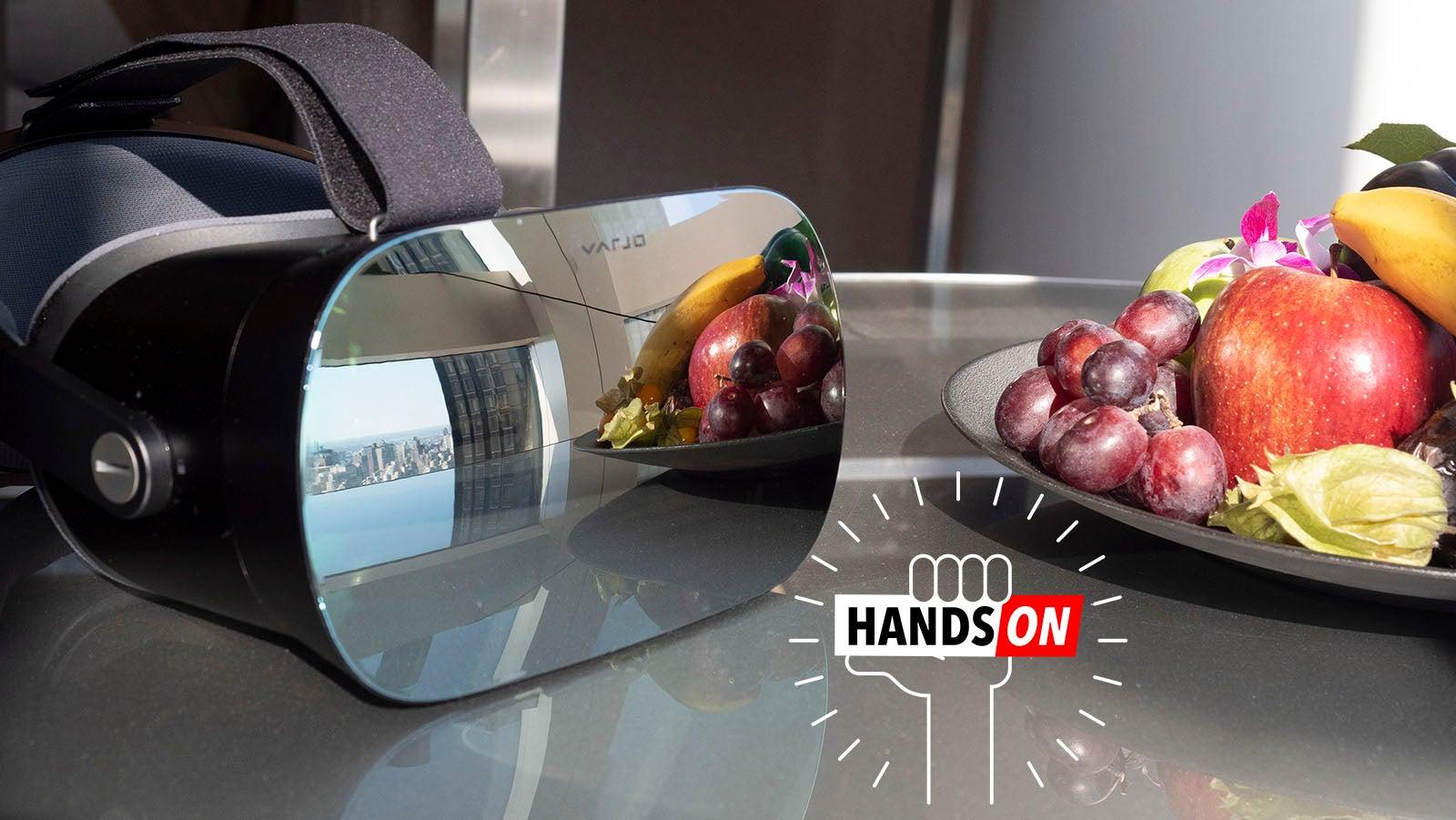 consumer-tech headset varjo varjo-vr-1 virtual-reality vr
