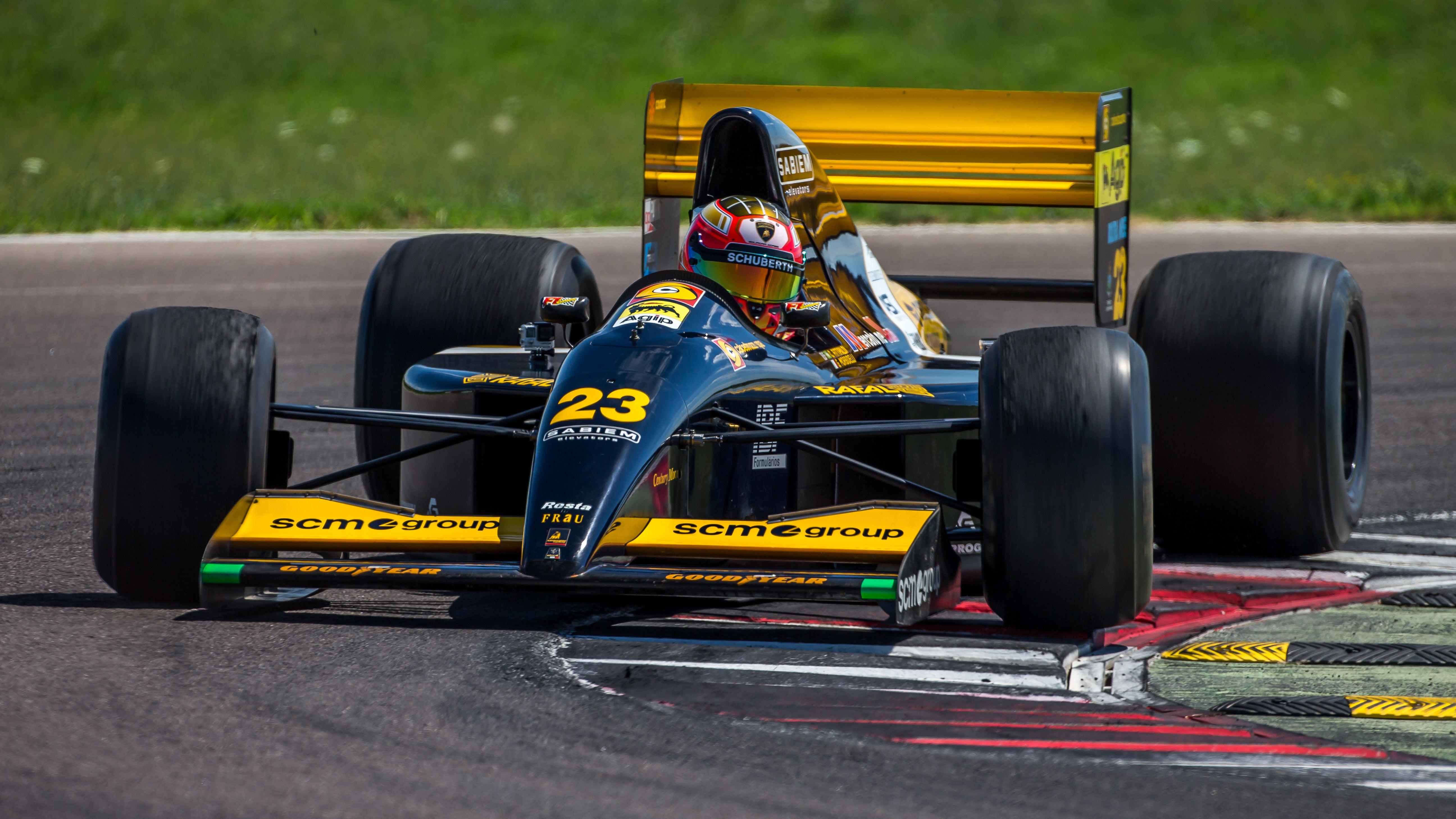 formula-one jalopnik lamborghini minardi racing vintage-racing