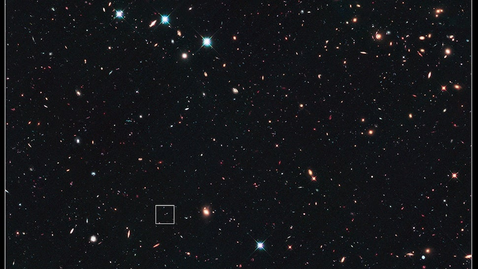 Behold, the most distant supernova explosion ever photographed