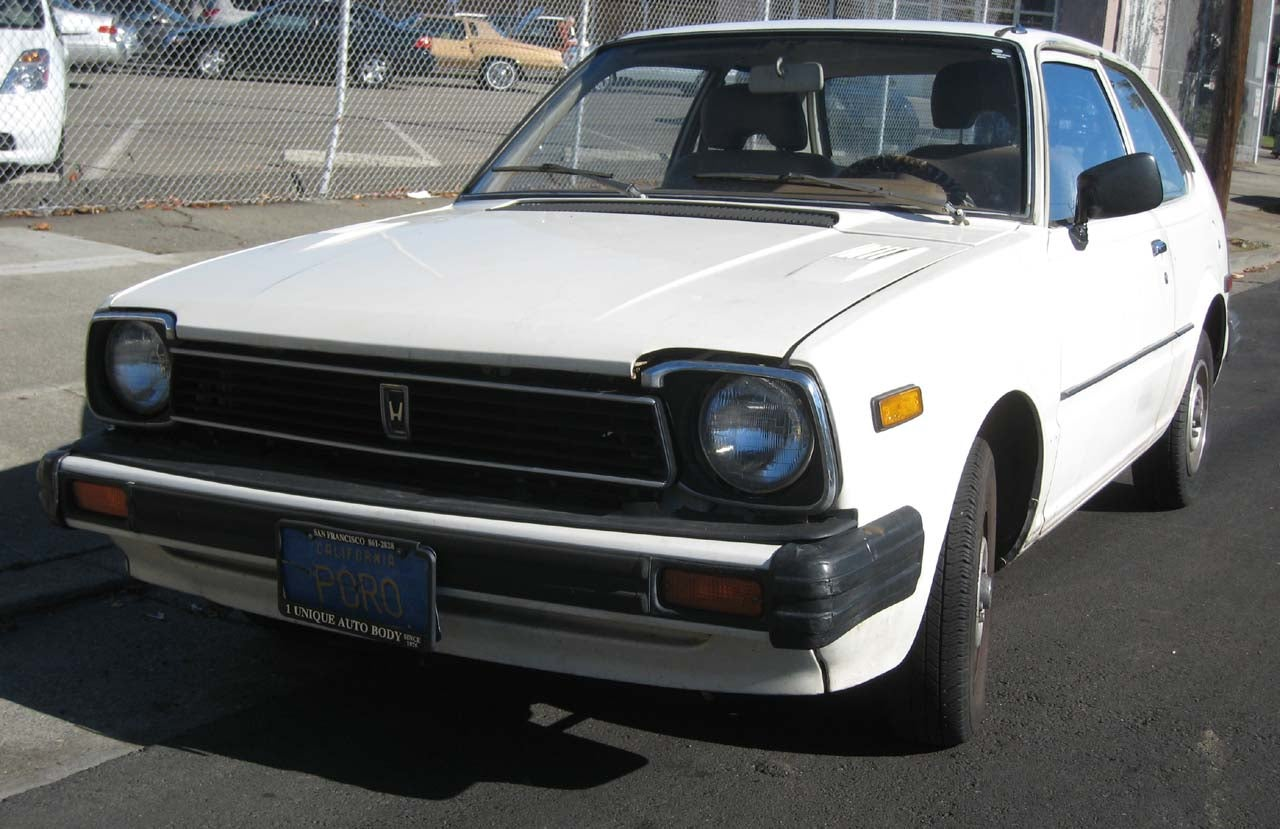 1980 honda civic. Black Bedroom Furniture Sets. Home Design Ideas
