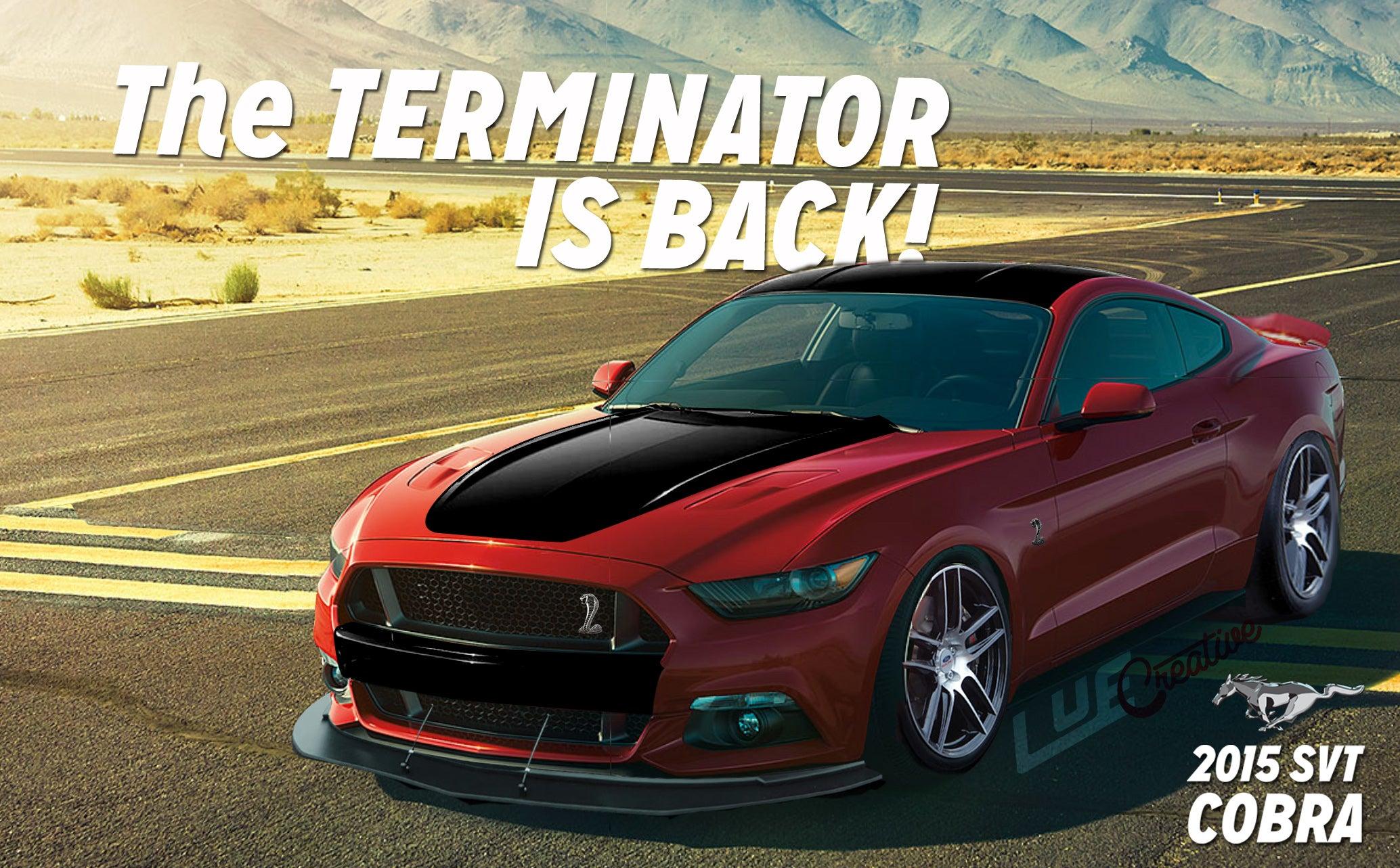 Image Gallery 2014 mustang terminator
