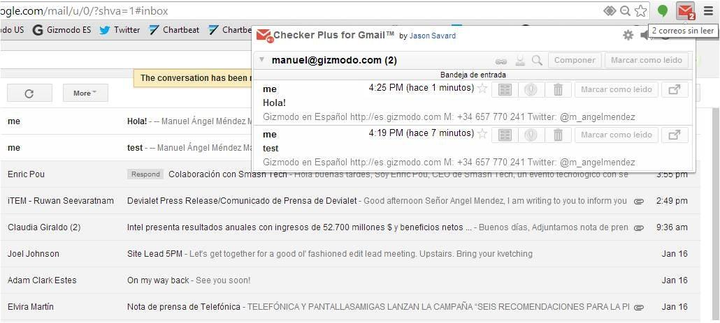 Gestiona mucho mejor tu Gmail con esta genial extensión para Chrome