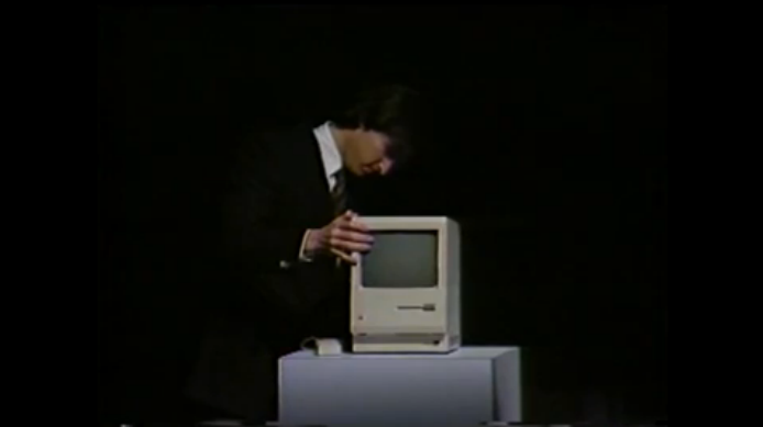 Watch Steve Jobs Show Off the Mac in Footage Unseen Since 1984