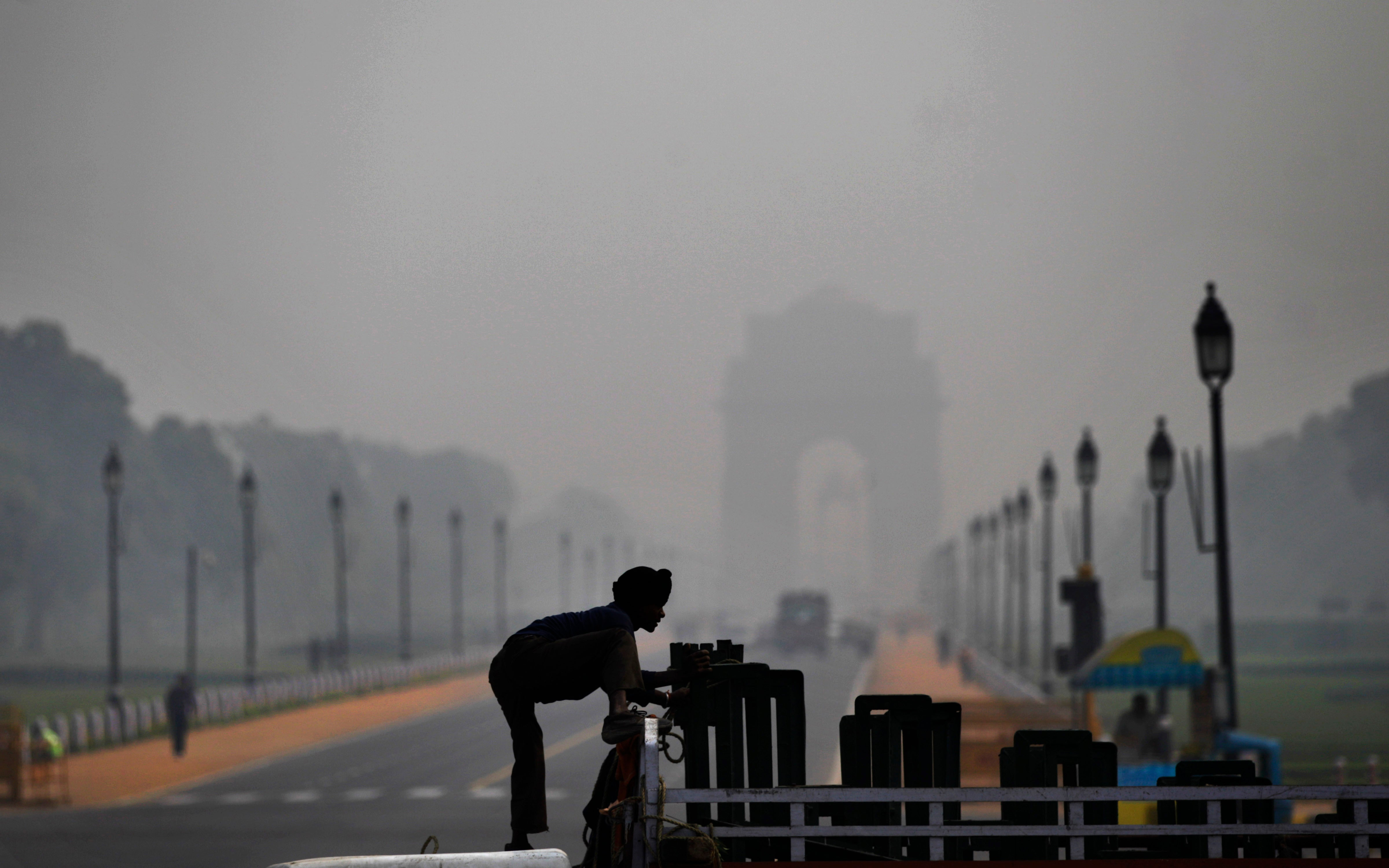 Hay un lugar en el mundo aún más contaminado que Pekín: Nueva Delhi
