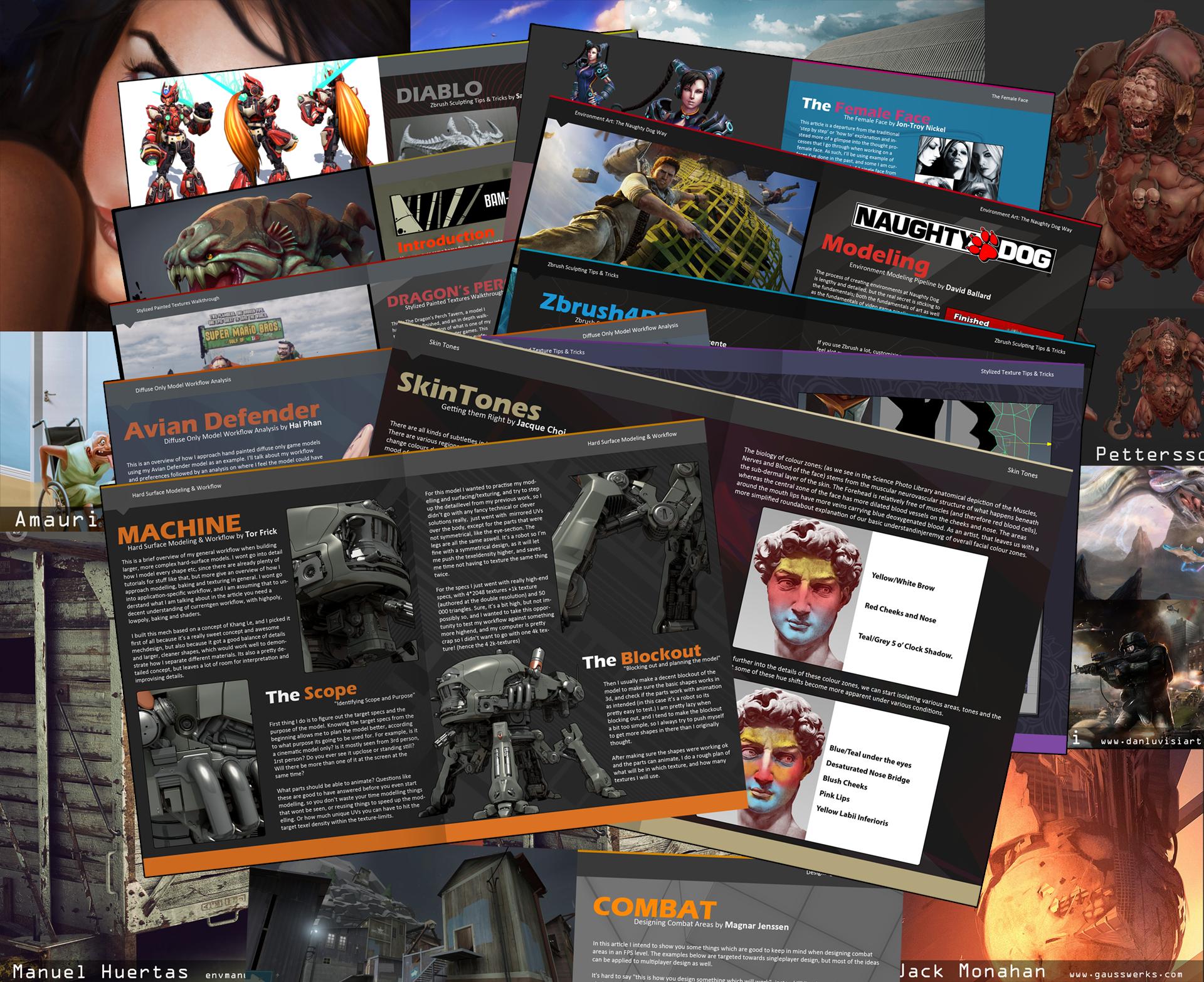 Aprende a crear arte para videojuegos con estos eBooks gratuitos
