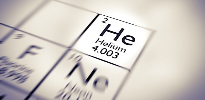 geochemistry helium physics