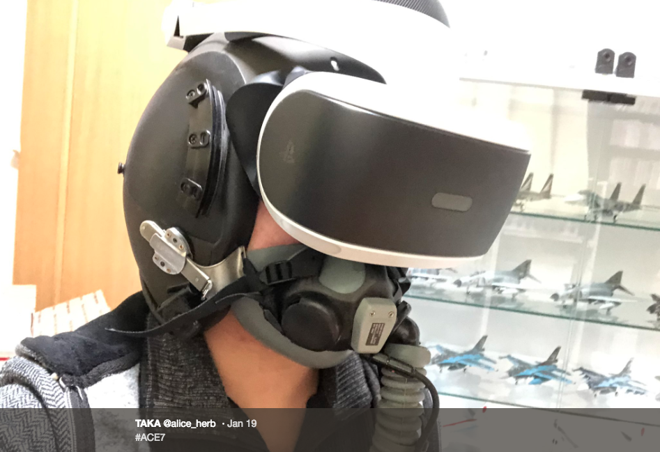 How To Make Ace Combat VR Even More Immersive