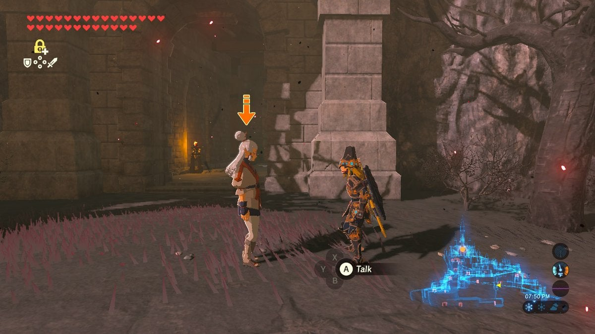 Zelda Player Builds Ridiculous Metal Block Contraption To Get NPC To Hyrule Castle