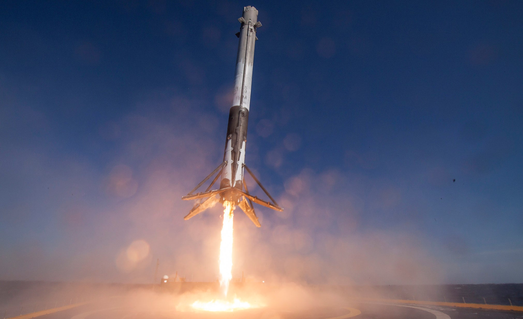 elon-musk ocean-barge-landings reusable-rockets rocket-launches rockets space spacex video