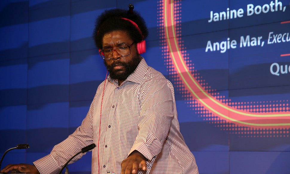 apple-music music-streaming pandora questlove spotify streaming tidal