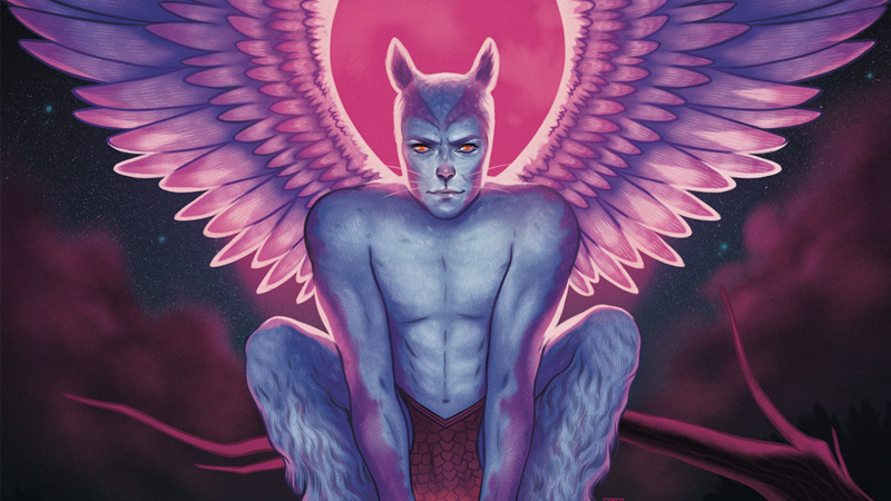 angel-catbird art dark-horse-comics exclusive margaret-atwood panel-discussion preview