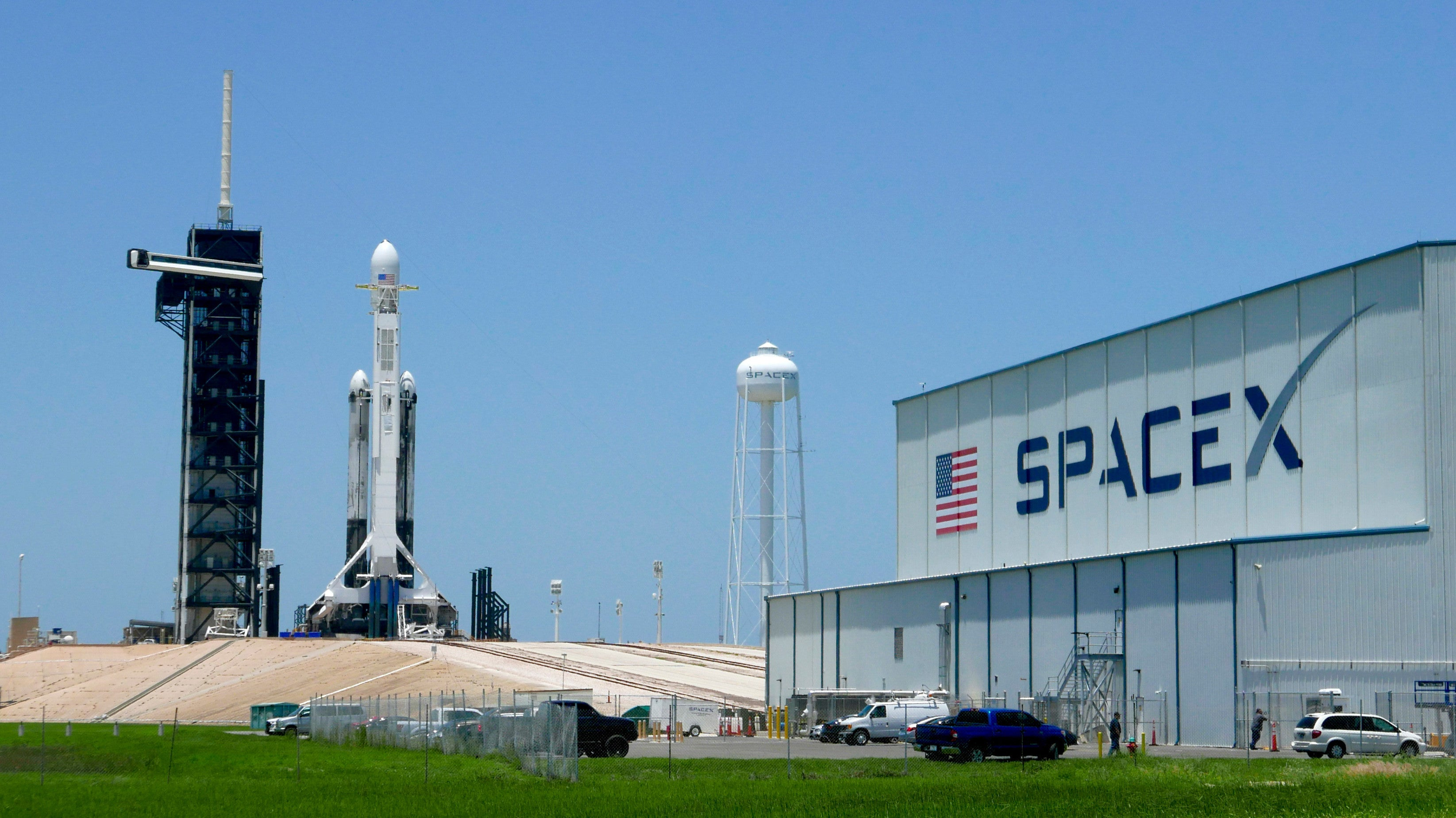 All The Cool Things Going To Space Today Aboard A SpaceX Falcon Heavy Rocket