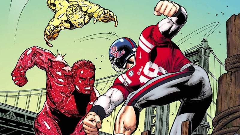 comics football marvel marvel-comics