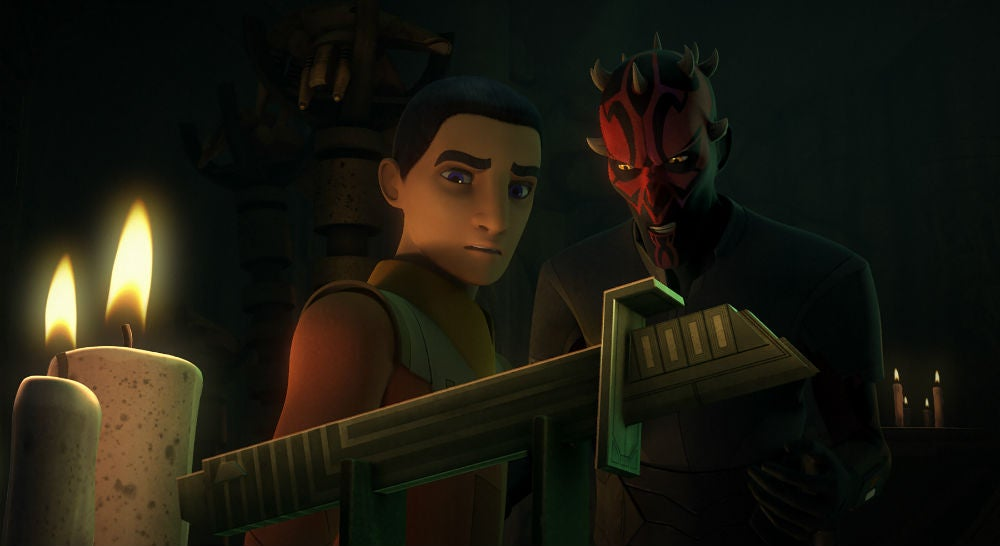 A Mysterious New Lightsaber Is Introduced In This Star Wars Rebels Clip