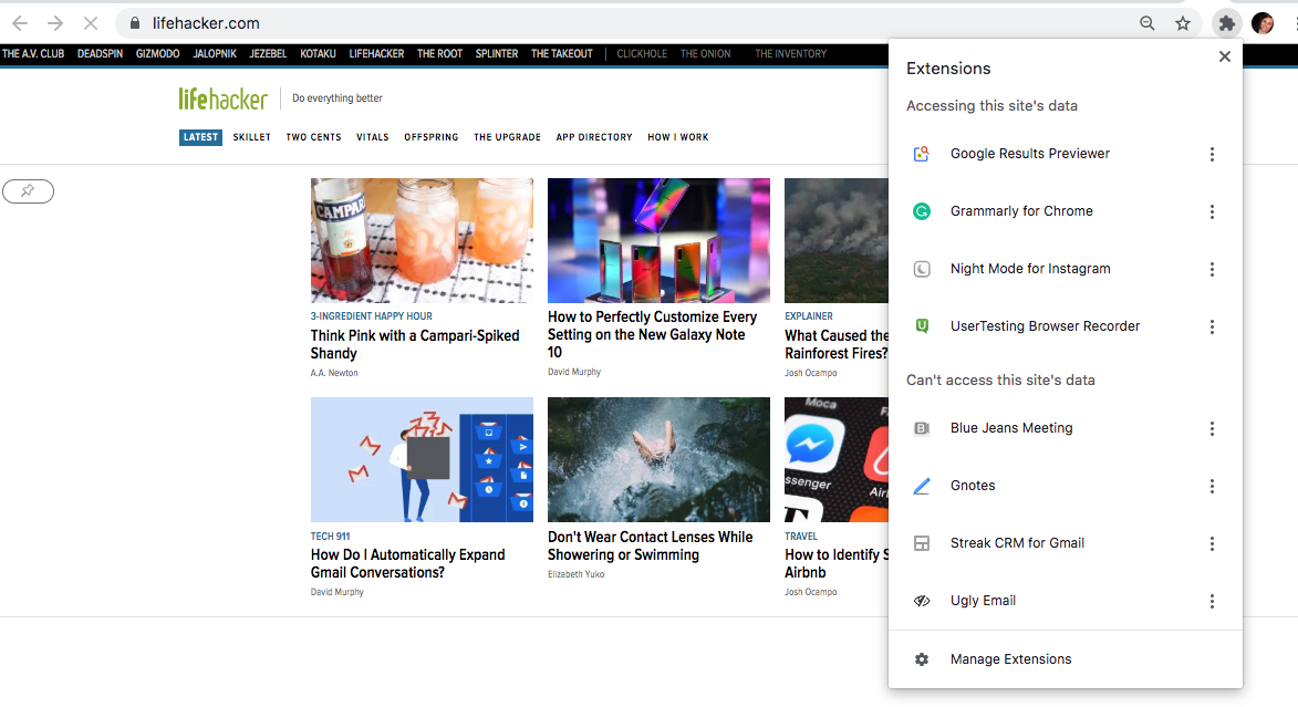 How To Enable Chrome's New Extension Menu